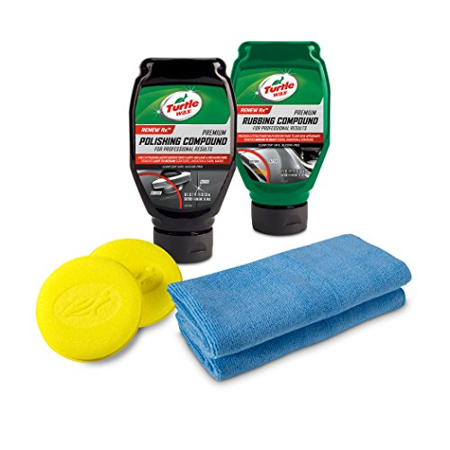 Turtle Wax 50734 Complete 6-Piece Compound, Polishing & Scratch Kit (Turtle Wax Car Polish)