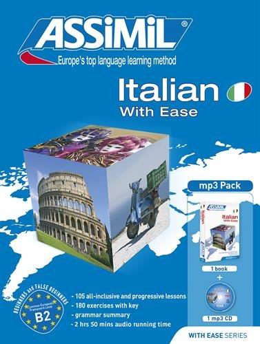 Assimil Pack Italian with Ease - Book plus MP3 CD (Italian - Ease Mp3