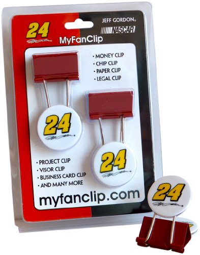 Jeff Gordon Stocking (NASCAR Jeff Gordon MyFanClip Multipurpose Clips (Pack of 2))