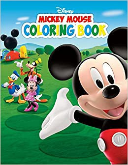 Mickey Mouse Coloring Book Great Book For Kids Paradise Books