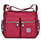 Tibes Waterproof Shoulder Bags Womens Mesenger Bag Crossbody Review and Comparison