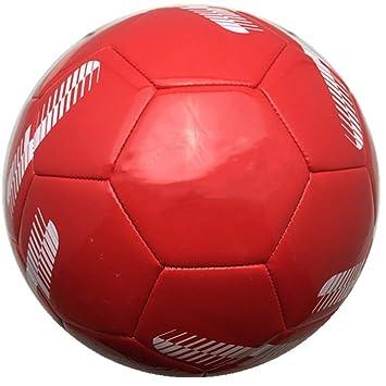Fútbol China Rojo antideslizante Juego de pelota sin costuras Soft ...