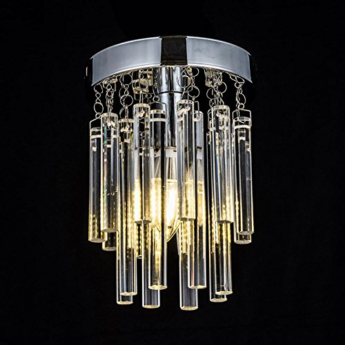 Luxury Crystal Ceiling Light Chandelier, AOKARLIA Creative Dome Lights, Modern Pendant Lamp/Aisle Lights [Energy Class A++], 15CM by AOKOALA