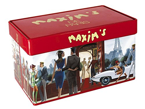Maxim's de Paris French gourmet Chocolate Mini Rochers, 36 pieces, Gift tin (French Chocolate compare prices)