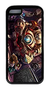 iPhone 5C Case, iPhone 5C Cases - Durable Protective Black Soft Rubber Back Case for iPhone 5C League Of Legends Game 2 Utral Slim Soft Back Bumper Case for iPhone 5C hjbrhga1544