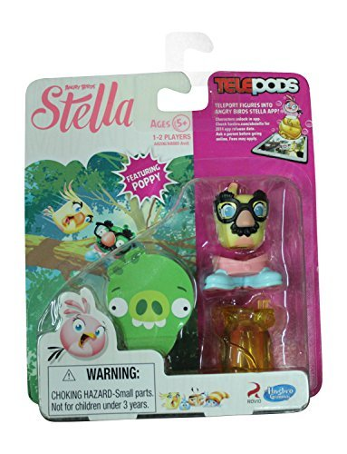 Angry Birds Stella Telepods Featuring Poppy Figure