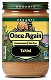 Once Again Organic Sesame Tahini, 16 Ounce -- 12 per case.
