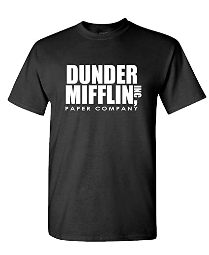 acb3db2490 The Goozler - Dunder Mifflin - Office Paper Company - Mens Cotton T-Shirt,