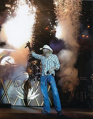 Toby Keith Signed 8x10 Photograph Country Music Singer 100% Guarantee Autographs-original Entertainment Memorabilia