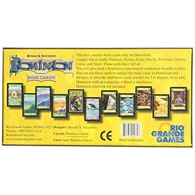 Rio Grande Games Dominion Base Cards: Toys & Games