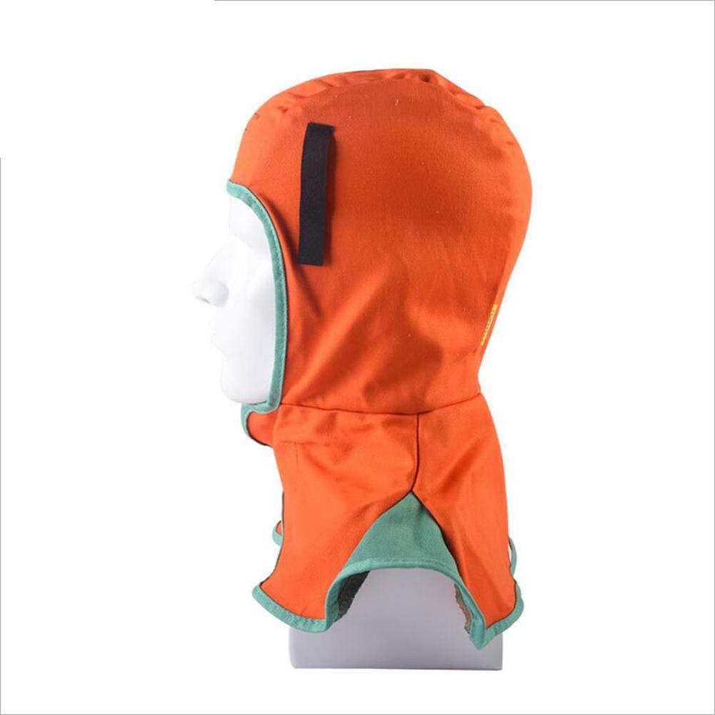 Ritapreaty Welding Helmet Mascarilla De Soldadura Retardante De La Llama De La Capucha Ajustable Lavable Transpirable para El Soldador