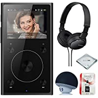 FiiO X1 2nd Gen (Black), mp3 Player - High Resolution Lossless, Portable, Bluetooth Music Player + MicroSD Card + Headphone & Speaker