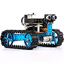 Makeblock Starter 2-in-1 Robot Kit - STEM Education - Arduino - Scratch 2.0 - Programmable Robot Kit for Kids to Learn Coding, Robotics and Electronics(Bluetooth Version)
