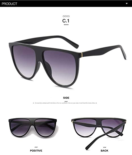 ZHOUYF Gafas de Sol Kim Kardashian Gafas De Sol Mujer ...