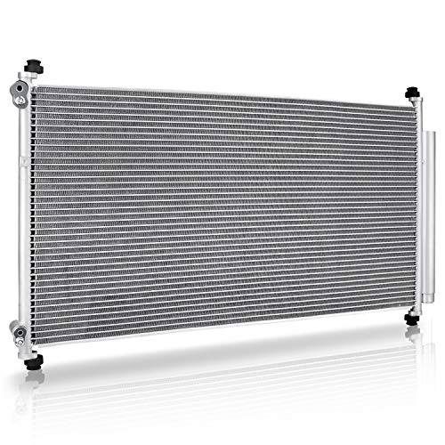 ATAC1008 A/C Condenser Assembly for 2005-2010 Honda Odyssey Mini Passenger Van (5 Speed Automatic, 3.5L V6) ()
