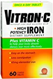 Vitron-C Coated Tablets 60 Tablets (Pack of 3) For Sale
