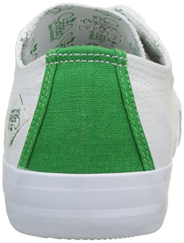 Le Temps des Cerises Origin - Botas Mujer Blanc (Sport Green)