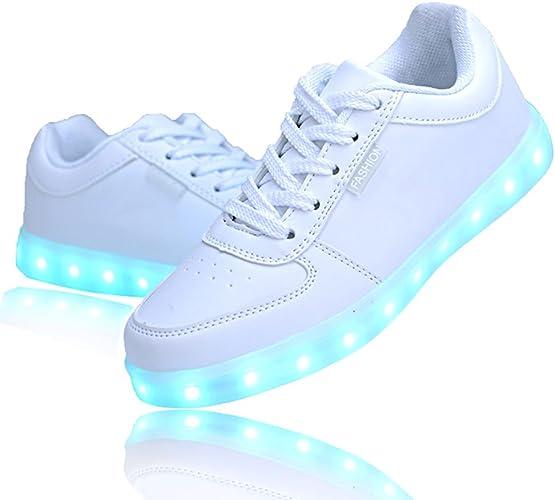 white led light up shoes