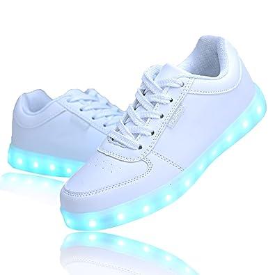 QOUJEILY - Zapatillas de Material Sintético para hombre, color azul, talla 37 1/3 EU