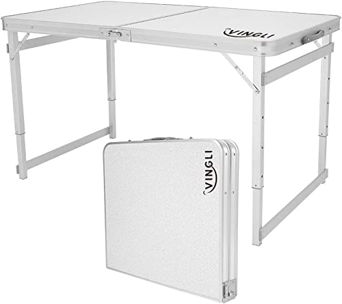 VINGLI 4 Foot Folding Table