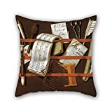 Oil Painting Edward Collier - Letter Rack Pillow Covers 20 X 20 Inches / 50 By 50 Cm Best Choice For Play Room,pub,bedroom,relatives,bedroom,chair With Twice Sides
