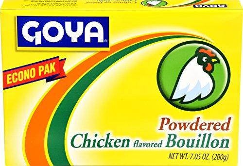 Goya Foods Chicken Flavored Bouillon Powder Econo Pak, 7.05 Ounces ()