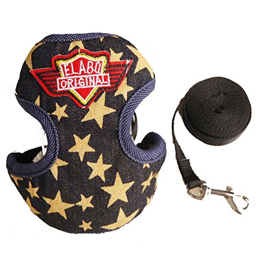 Rock Star Dog Costumes (Creation Core Fashionable Dog Harness Dog Clothes Apparel Costume with Pulling(Rock Star,L))