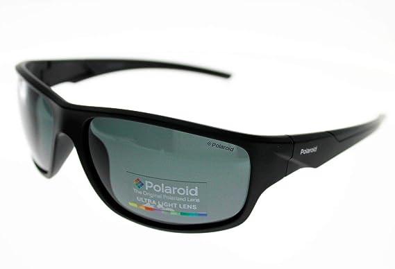 1d45259a11e36 Polaroid Lunettes de Soleil SPORT PLD7010 noir mat Homme Indice 3 Polarisé