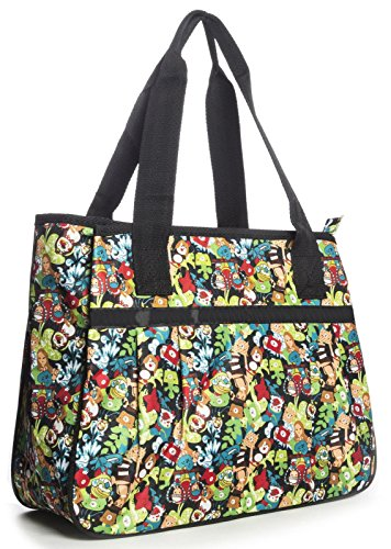 Big Handbag Shop - Bolsa unisex Tote 865 - Green Scene