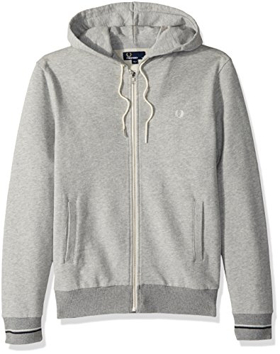 Fred Perry Men's Loopback Hooded Sweat, Vintage