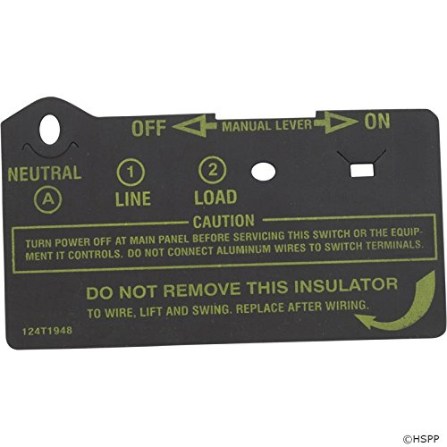 Intermatic 124T1948 Timer Insulator for T101 & T102 Singl...