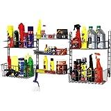 Grayline 410187, Deluxe Garage Storage System Set, Grey