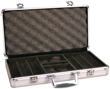 (DA VINCI Aluminum 300 Chip Case)