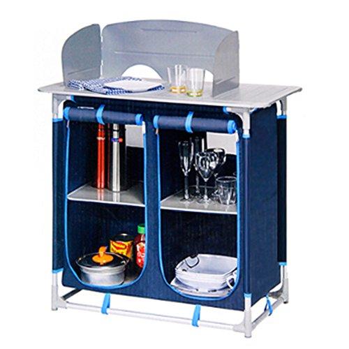 [Karavan Kitchen Roll Table / Camping Cabinet / Outdoor Cabinet / Sports Cabinet] (70s Jewellery Disco)