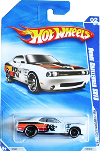 Hot Wheels '10 Performance, White Dodge Challenger Srt 8 - 100/240