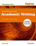 img - for Effective Academic Writing Second Edition: Introductory: Student Book by Alice Savage (2012-07-12) book / textbook / text book