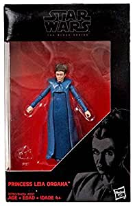 Star Wars, 2016 The Black Series, Princess Leia Organa (The Force Awakens) Exclusive Action Figure, 3.75 Inches