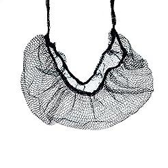 Gonioa 100Pcs Black Disposable Soft Nylo...