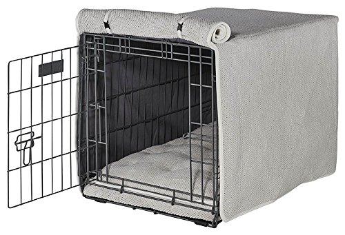 Bowsers Luxury Crate Cover in Aspen (Large - 23 in. L x 36 in. W x 25 in. H)