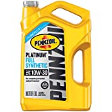 Pennzoil 550046205 Platinum 5 quart 10W-30 Full Synthetic Motor Oil (SN/GF-5 Jug)