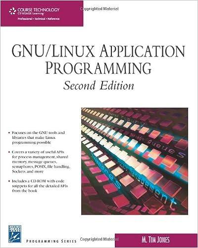 GNU/Linux Application Programming (Programming Series): M