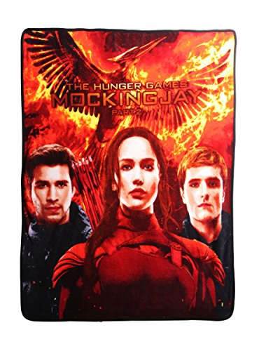 The Hunger Games: Mockingjay Fleece Throw