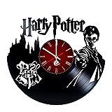 Cheap Harry Potter Handmade Vinyl Record Wall Clock Fun gift Vintage Unique Home de…