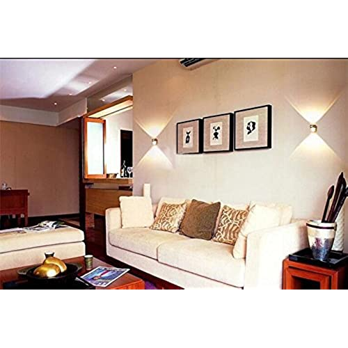 Glighone applique murale spot led int rieur moderne 6w rond en aluminium eclairage d coration - Luminaire escalier maison ...