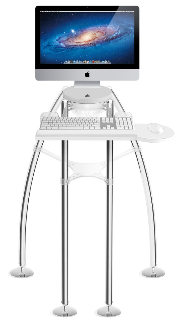 100 best desk for imac 27 wall mounted standing desk imac model wall mount desks and - Computer desk for imac inch ...