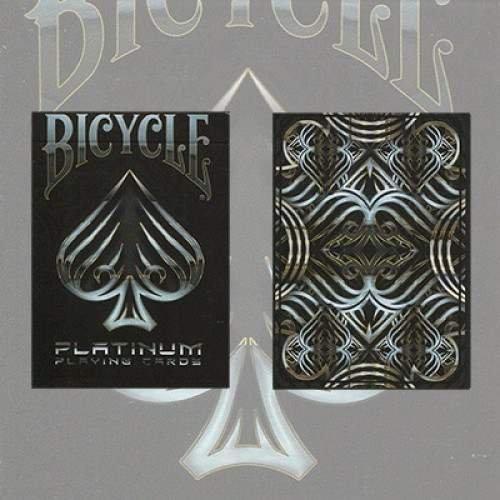 Mazzo di carte Bicycle Platinum Deck - Mazzi Bicycle - Carte da gioco -Giochi di Prestigio e Magia U.S.P.C.C.