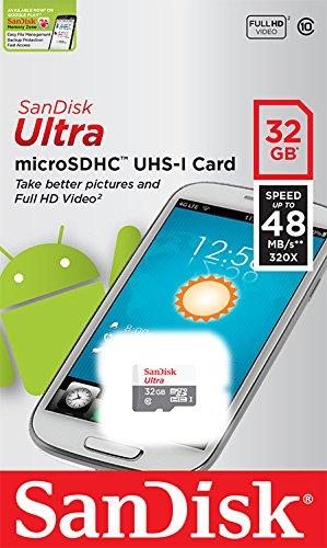 Sandisk 32GB 32G Ultra Micro SD HC Class 10 TF Flash SDHC Memory Card - SDSQUNB-032G-GN3MN 2 bibvlivb