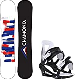Chamonix' Servoz Wide 157 Mens Snowboard Savoy Bindings - Fits US Mens Boots Sized: 9,10,11,12,13
