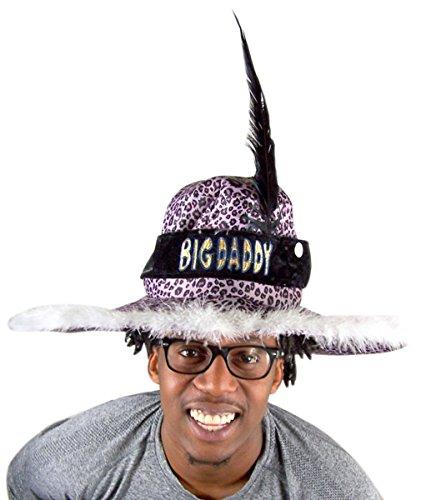 Fiber Optic Halloween Costumes (Fiberoptic Light Up Big Daddy Halloween Costume Hat Accessory)