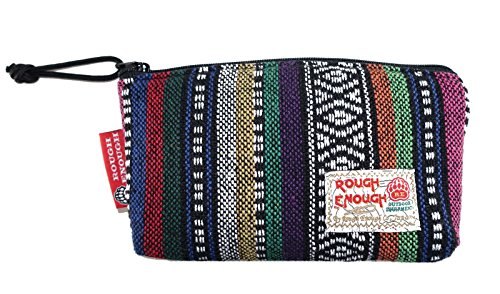 Rough Enough Men Women Vintage Fancy Folk Small Pen Case PouchMobile Pouch Cosmetic Bag (Black Folk)